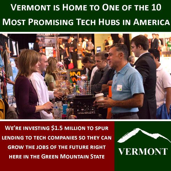 Vermont tech sector