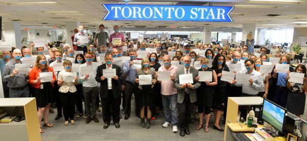 Journos @TorontoStar on the jailing of Canadian Mohamed Fahmy #FreeAJStaff #cdnpoli #journalismisnotacrime #Egypt http://t.co/7dtTuZMoYD