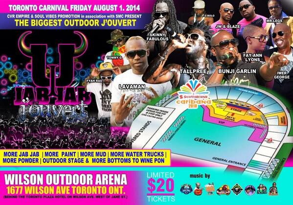 Jab Jab Jouvert Toronto will be maaaaaaaaaadnesss! Tickets are moving fast: 4168455433 or 7CCC29F1 http://t.co/ubf1D4rJut