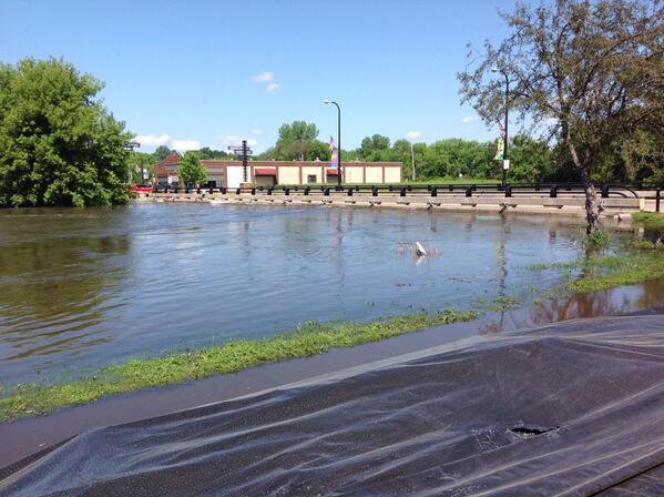 Thumbnail for Minnesota River Rising, Crow River Receding