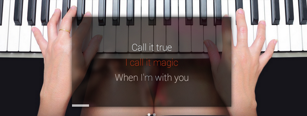 OK GLASS. LEARN A SONG. Say hello to @musixmatch for @googleglass http://t.co/XUhMmzKX6g