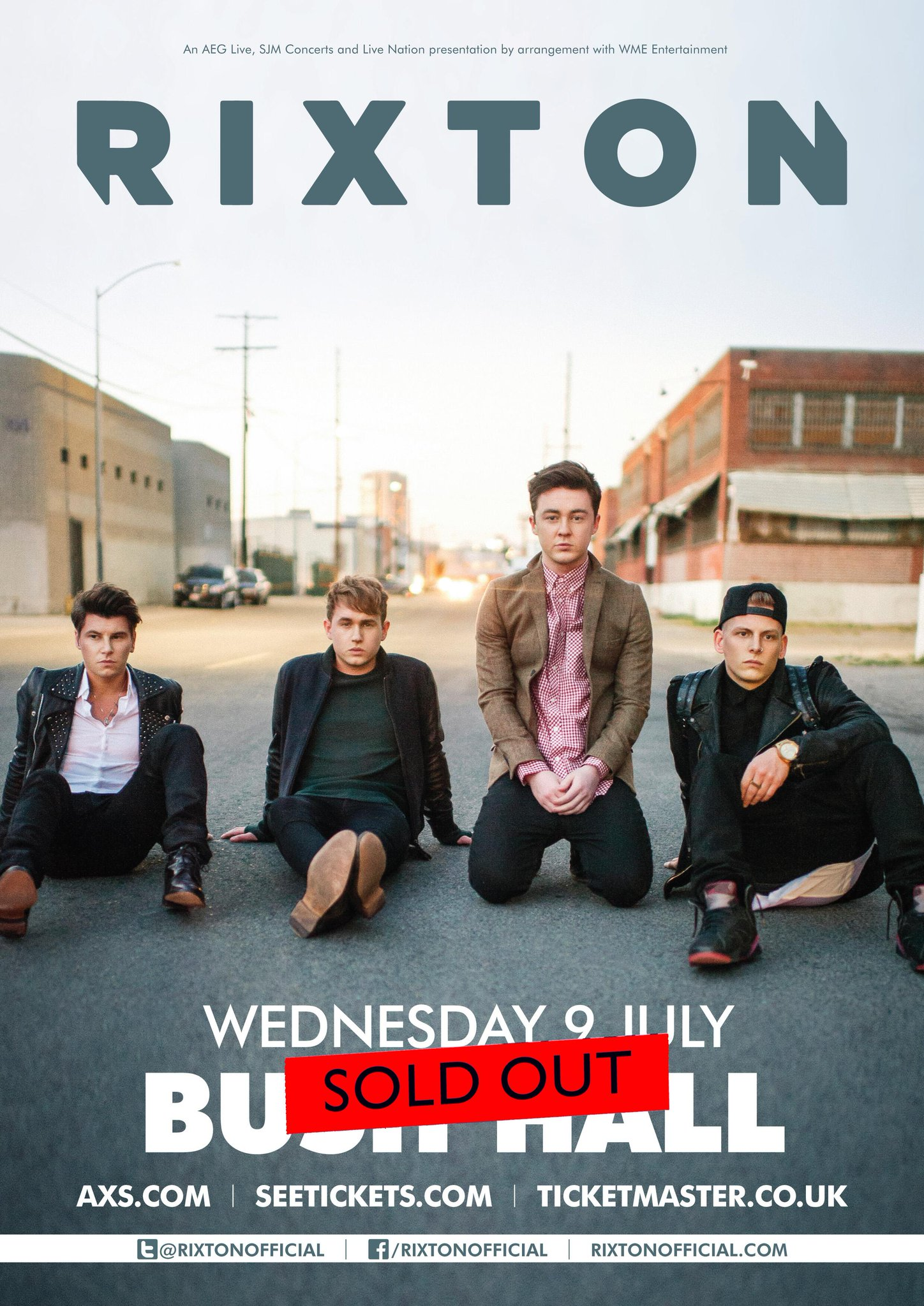 RT @AEG_Live: Is there no stopping @Rixtonofficial? After taking the US by storm, they've SOLD OUT their 2nd London show in a row! http://t…