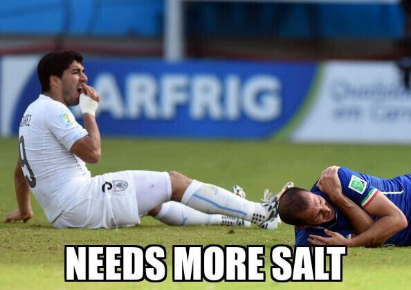 Berita Bola - Ini Dia Ungkapan Kekesalan Dari 'Korban Ketiga' Luis Suarez -