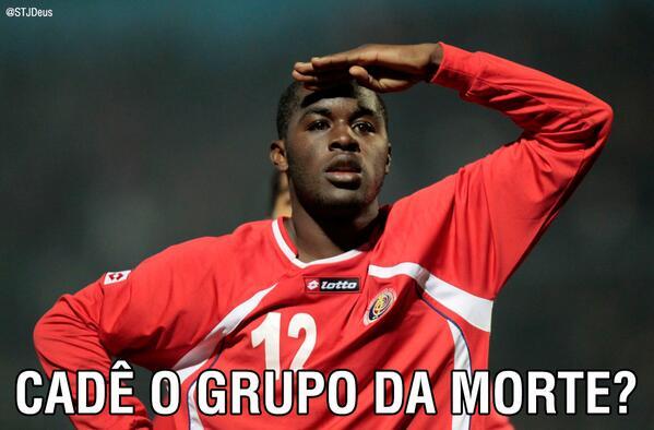Esse que era o grupo da Morte? #CRC #Copa2014 http://t.co/XcE83FeBl4