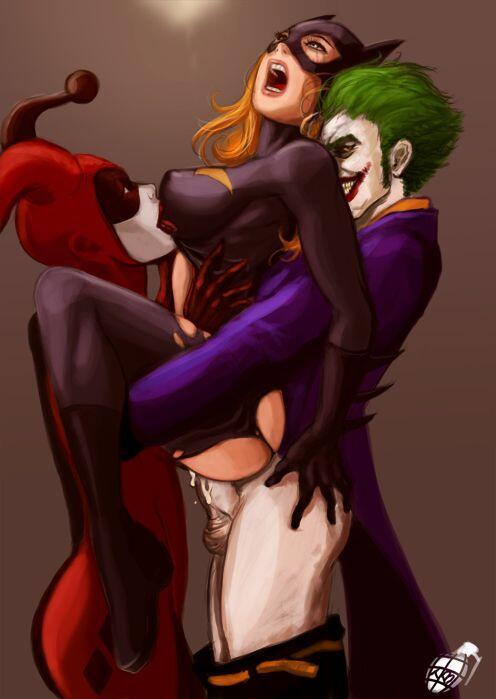 joker fucks batgirl