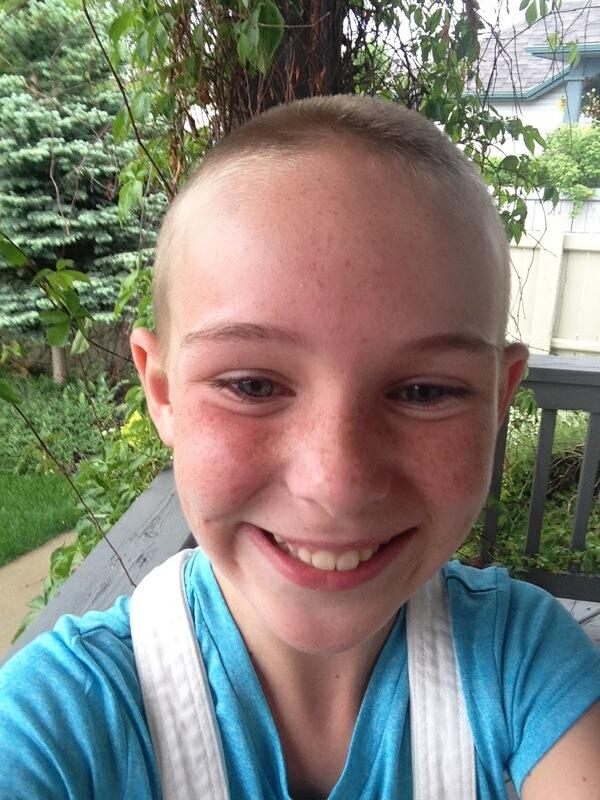Confirm. happens. daughter shaved her head theme interesting