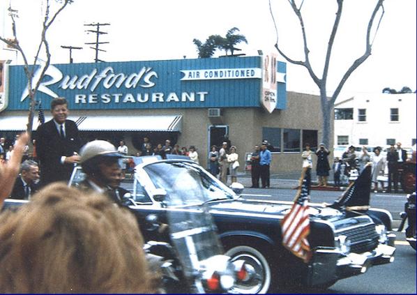 June 6, 1963, President John F. Kennedy in North Park, San Diego http://t.co/Hkn0xFbaAq
