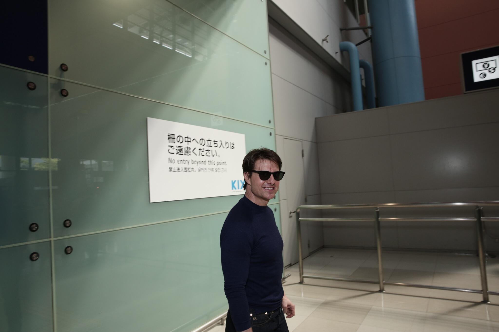 Twitter / TomCruise: Konnichiwa, Osaka! I'm in ...