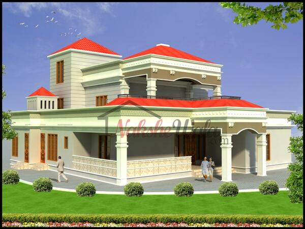 Nakshewala On Twitter Duplex Bungalow Design With 4 Bedroom In