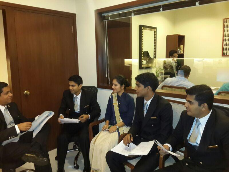 Twitter / TheOberoiMumbai: Training new joinees at Front ...