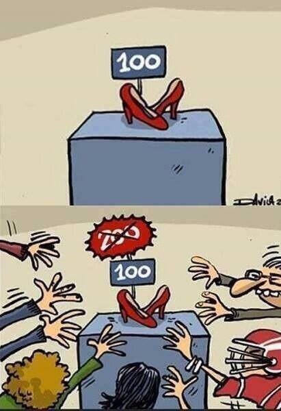 Les #soldes résumées en une image ! ;) http://t.co/wYsiORlR9Z