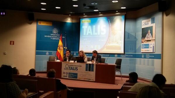 @cepmalaga Inauguración del congreso #TALIS organizado por @educaINEE @educaINTEF @ConsEscoEstado http://t.co/FW5wRPZJTz