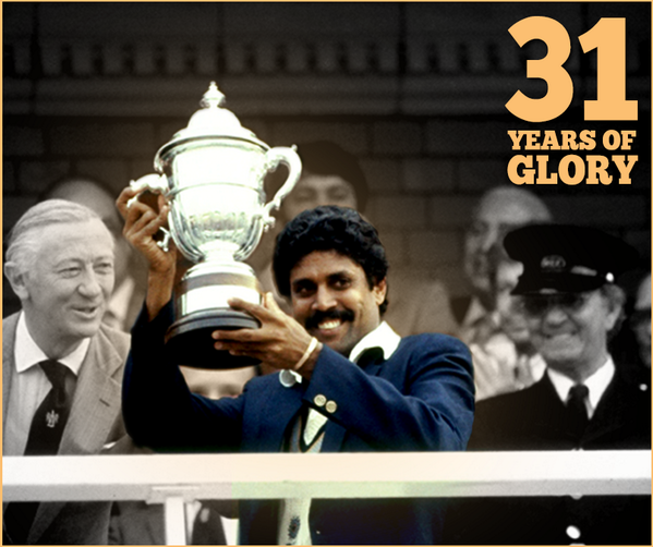 On this day in 1983: This moment sparked generations of greatness in Indian Cricket! #1983WorldCup <br>http://pic.twitter.com/PB99sNGTtG