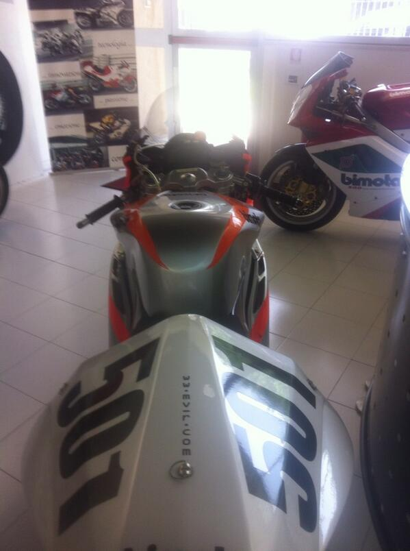This bike has the honor of biggest winning margin in a worldsbk race ever . http://t.co/ryNhAOPWBL