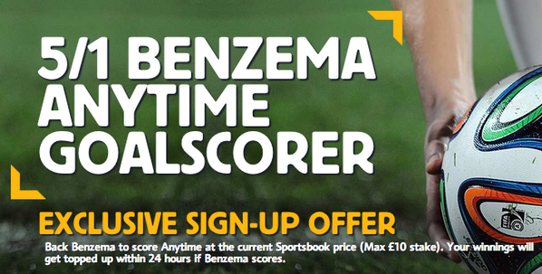 EXCLUSIVE Betting Special: Karim Benzema is 5/1 score ANYTIME against Ecuador [Enhanced Odds]