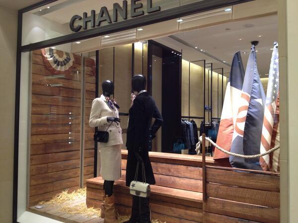 Chanel Berlin jen on chanel store stewy spirit kadewe berlin