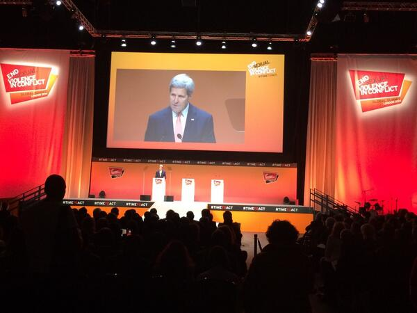 US Sec John Kerry keynotes closing ceremony of #TimeToAct #rstream http://t.co/fyLhj9CGJi
