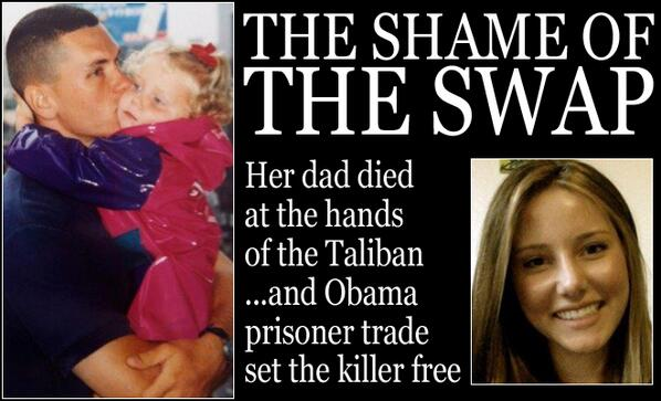 Daughter of first #American killed in #Afghanistan learns freed #Taliban leader was behind it http://t.co/yiESpwIPET http://t.co/kvjoJ1wC5T