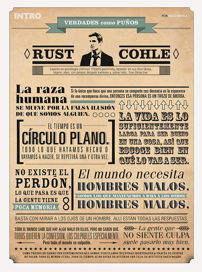 La Claqueta Pc On Twitter Rust Cohle En 10 Frases