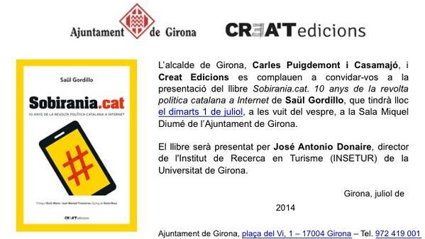 Thumbnail for Llibre Sobirania.cat. 10 anys de la revolta política catalana a Internet