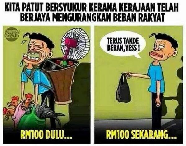 Image result for Foto GST beban rakyat