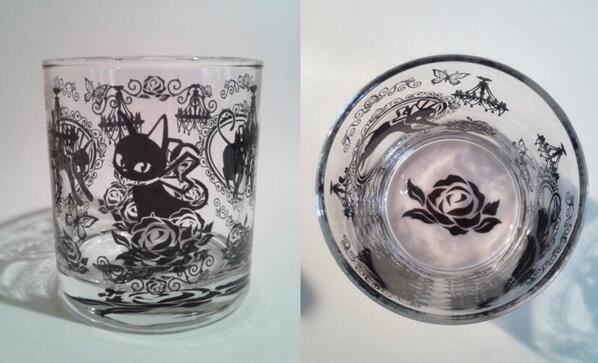 【匣ノ匣で販売中.2】MIAロックグラス ちょっと小さめのグラスです。サイズ/口径75mm×高さ81mm/容量250ml/1250円  http://t.co/3RlEv4QyO0