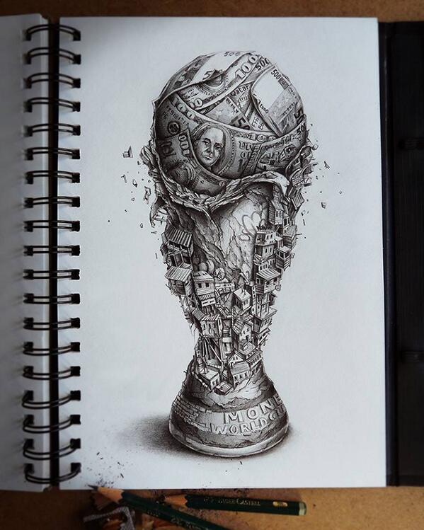 La coupe du monde au #Brésil résumée en une image ! #ESPNED #BRECRO http://t.co/Ql8YLyU5O1