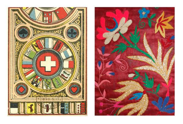 Playing cards from #SUI and dance costume from #ECU http://t.co/JYTnbxy7Rf http://t.co/PZpN90dOic #WorldCup http://t.co/F7osCBBLrY