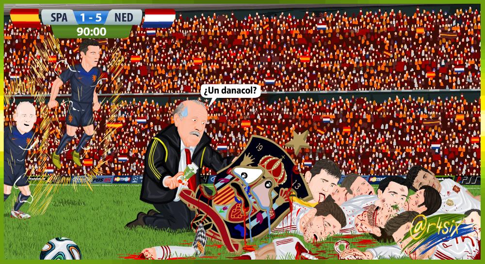¿España eliminada del Mundial?