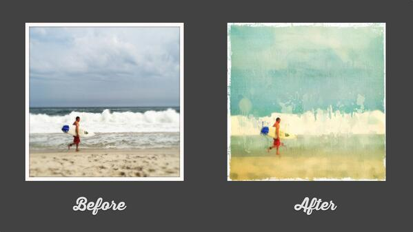 New video! We show you how to turn a photo into fine art using only smartphone apps: https://t.co/TNrkfLKPlT http://t.co/x4W3KKoMA0