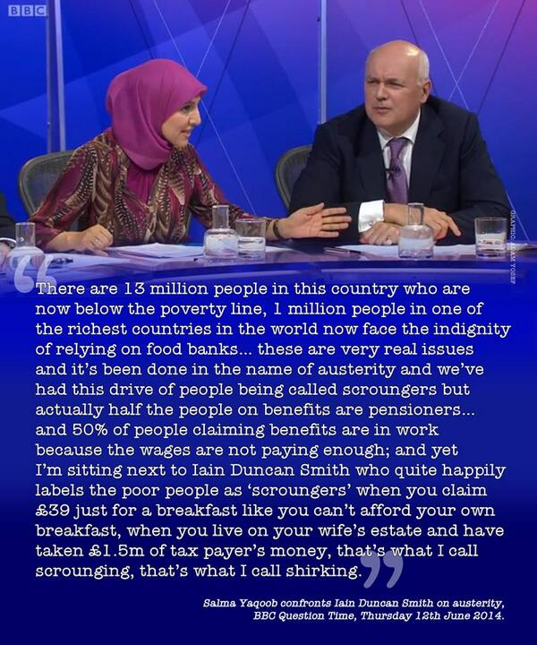 """Yes! RT @paullewismoney: MT """"@Ushka02: http://t.co/Us4TaJ6An4"""". Did this really happen on Question Time?"""