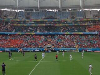 Holanda X Espanha. Aqui vamos nós! #Copa2014 #Salvador http://t.co/QOls8UhdXb