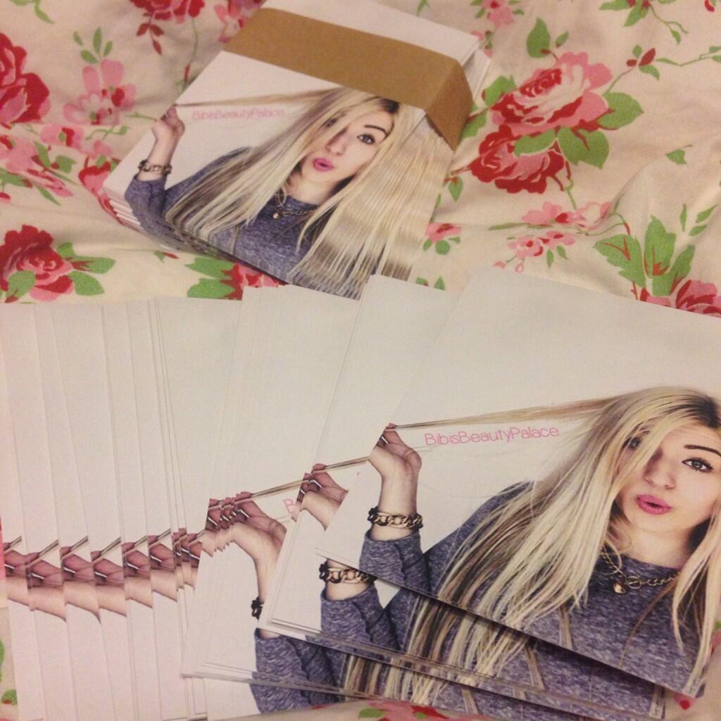 B I B I On Twitter Yeaaah 1000 Neue Autogrammkarten