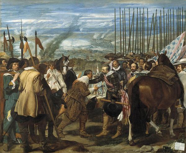 Τους εκδικούνται για τη μάχη της Μπρεντά του 1625. Η εκδίκηση είναι ένα πιάτο που τρώγεται κρύο. Παγωμένο, μπλα μπλα http://t.co/AprNxDVfyi