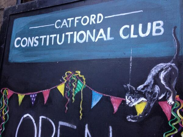 Enjoying some time at the local @CatfordCClub #catford #SE6 http://t.co/sZjBoxCy6E