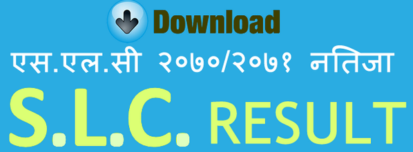 Download SLC Result 2070/2071