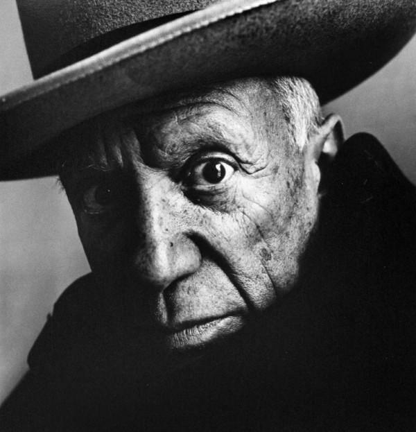 """History In Pictures on Twitter: """"Pablo Picasso, 1957. Photograph by Irving  Penn. http://t.co/NDvksc9VKQ"""""""