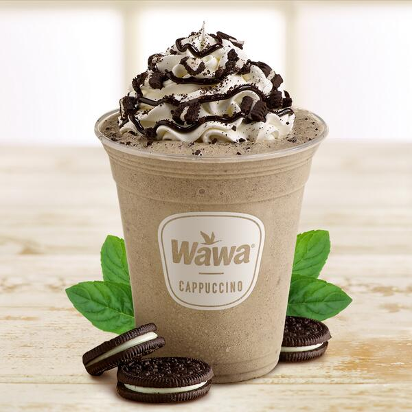 Wawa On Twitter Our New Freshly Made Mint Cookies Cream Frozen