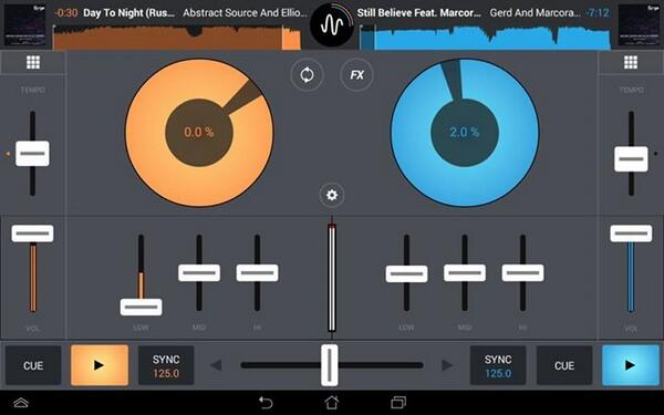 Testing #mixvibes for Android. Looks nice for an Android Dj App. http://t.co/QL2LxD05WV #deephouse http://t.co/EHzTEDiqgw