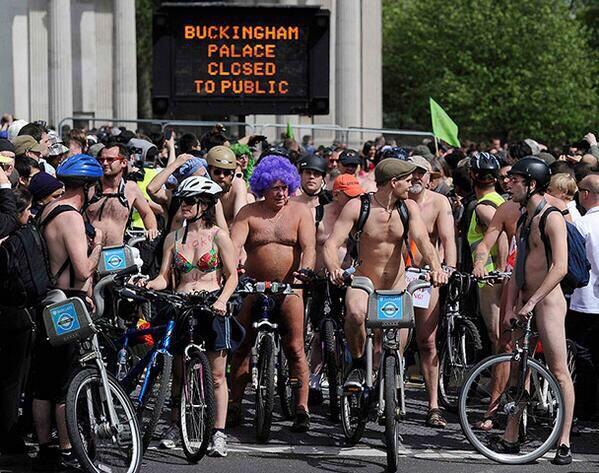 World nude bike day 7