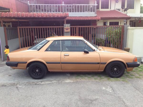 mazda 626 coupe 1981