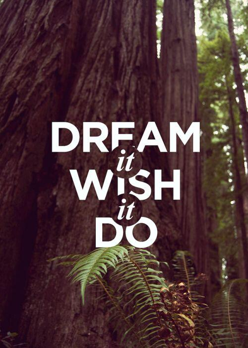 Twitter / vinspired: This weekend: Dream it, wish ...