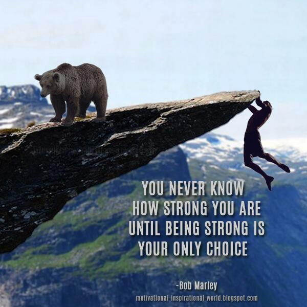 Don Wielinga On Twitter You Never Know How Strong You Are Until