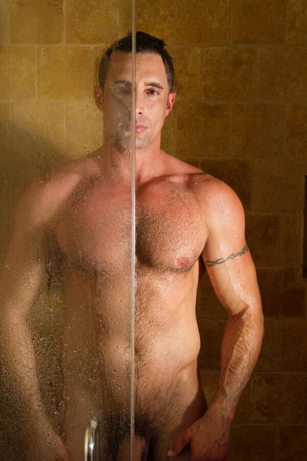Wet gay muscle cock img
