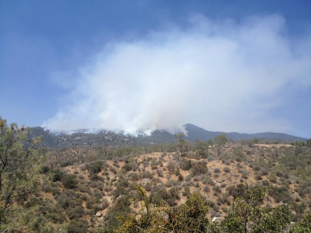 Lake isabella fire