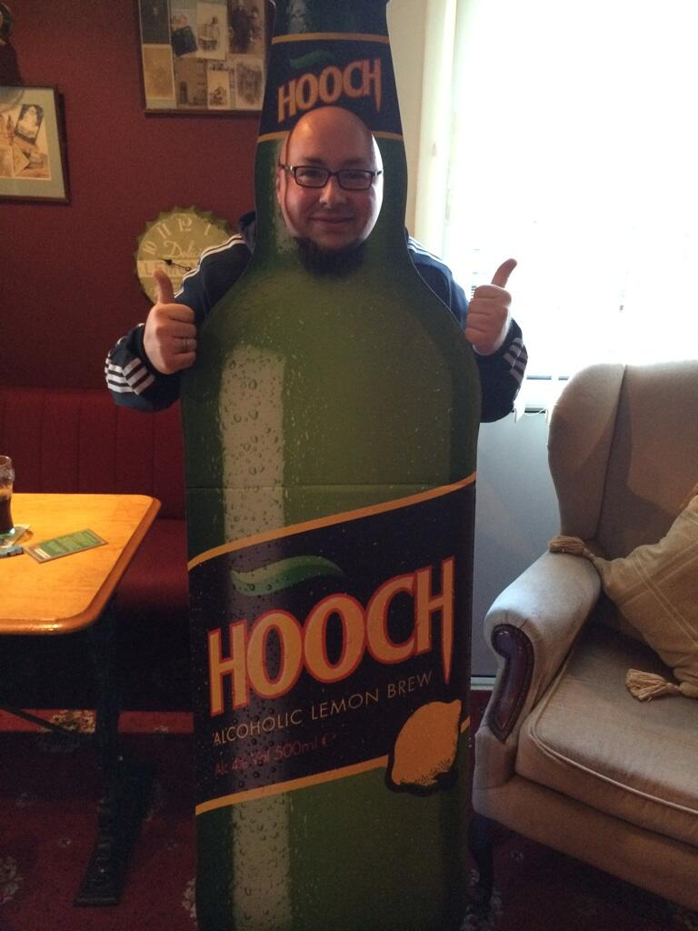 RT @PodgePresents: @HoochLemonBrew It's amazing what you end up wearing. What do you think @lemontwittor http://t.co/StpXRKYCfL
