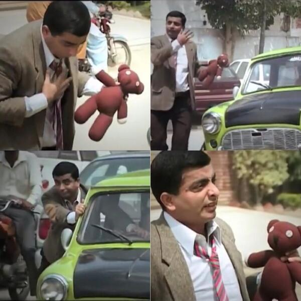 """""""@UK_DinDin: """"@IqraEjaz: OMG. There's even an asian Mr.Bean drama on HUM TV. http://t.co/V8MjudZPH5"""""""