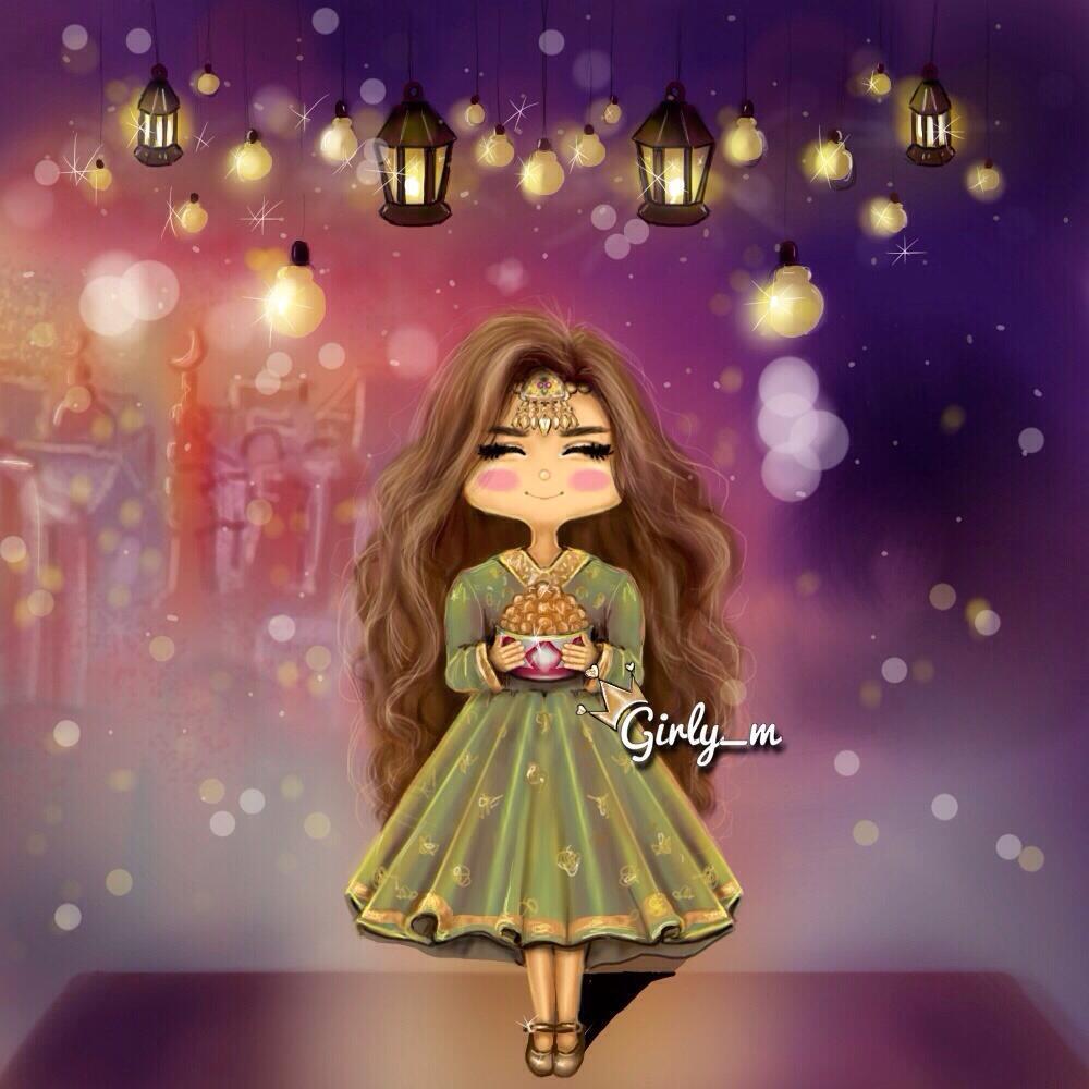 "Girly_m On Twitter: ""#ميني_مي اللهم بلغنا رمضان #رسمتي"