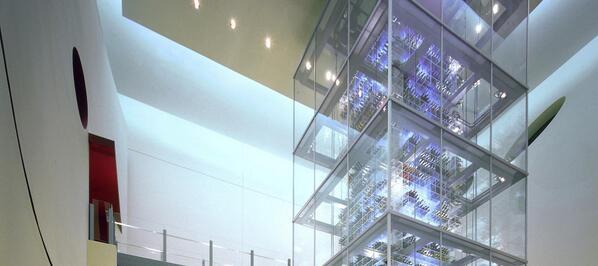 The ultimate wine collection (50,000 bottles!) at @aureolelasvegas. @LasVegas #VegasSeason http://t.co/BVoNse3FTm