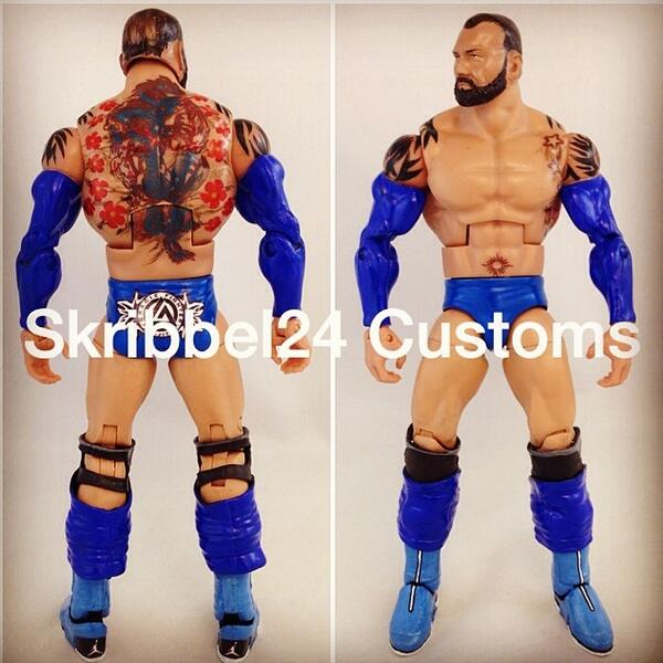 Skribbel24 Customs On Twitter By Popular Demand BLUETISTA Is Now Ebay Check Out The XX8s Custom Yours Truly Batista